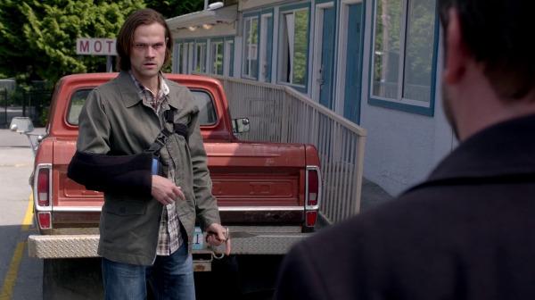 10 Supernatural SPN S10E2 Reichenbach Sam Winchester Crowley Jared Padalecki Mark Sheppard