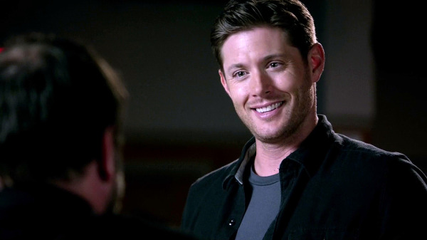17 Supernatural Season 10 Episode 1 S10E1 Black Dean Winchester Jensen Ackles demon smile