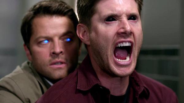 21 Supernatural SPN Season Ten Episode Three S10E3 Soul Survivor Demon Dean Winchester Jensen Ackles Castiel Misha Collins