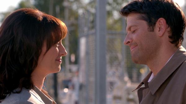 5 Supernatural SPN S10E2 Reichenbach Castiel Misha Collins Hannah Erica Carroll