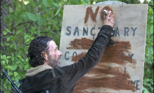 5 The Walking Dead S5E1 No Sanctuary Rick Grimes