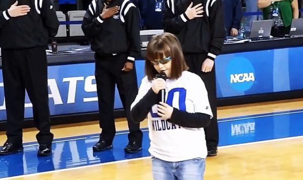 Marlana VanHoose national anthem