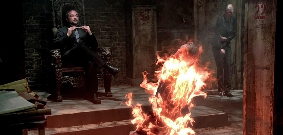 slide Supernatural SPN Season Ten Episode Three S10E3 Soul Survivor Mark Sheppard Crowley