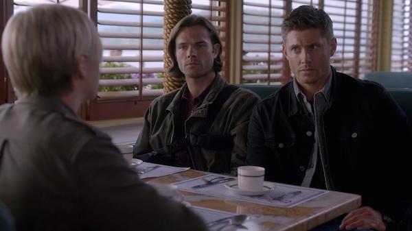 12 Supernatural SPN Season 10 Episode 4 S10E4 Paper Moon Dean Sam Winchester Jensen Ackles Jared Padalecki Brit Sheridan Kate