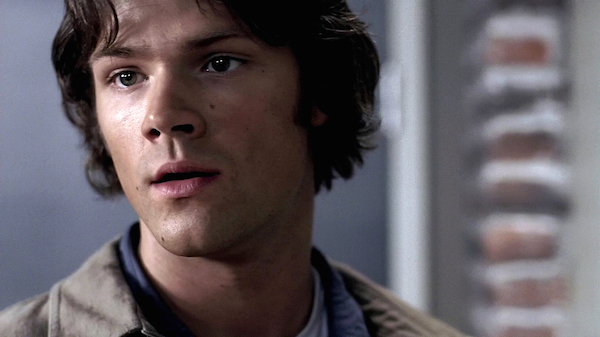 B2 Supernatural Season 10 Episode 6 SPN S10E6 Ask Jeeves Sam Winchester young Jared Padalecki puppy