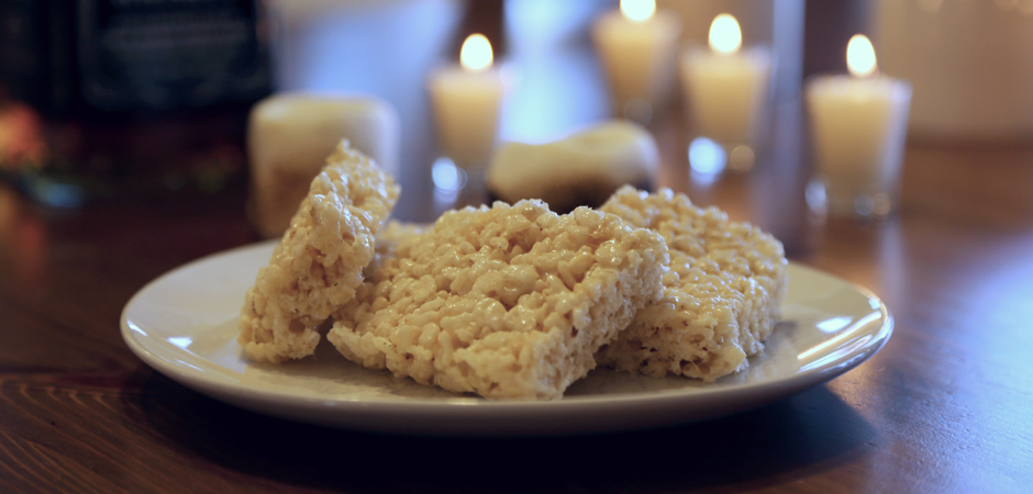 Brown Butter Bourbon Rice Krispie Treats slide