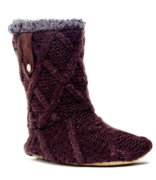 Chocolate Chip Arden Icelandic Slipper Boot