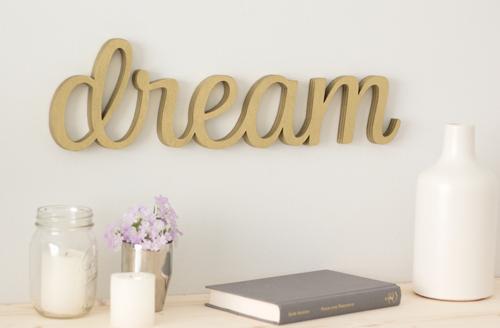 Wordbilly Dream sign