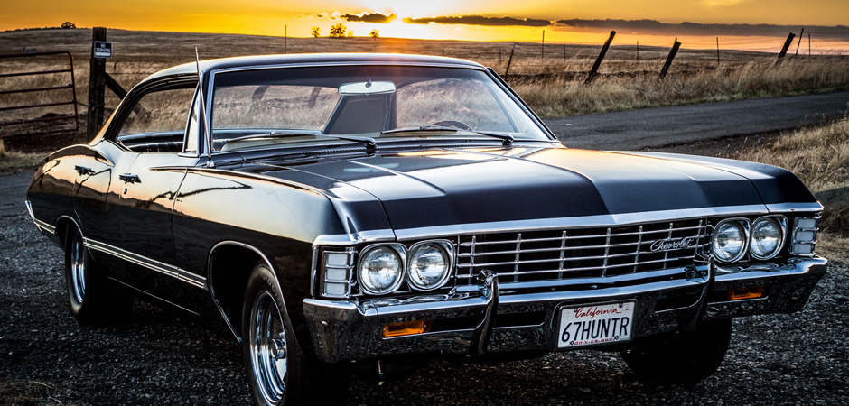 Impala Supernatural License Plate