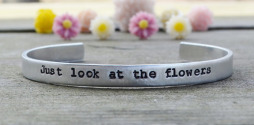 slide_Walking Dead Just Look At The Flowers bracelet