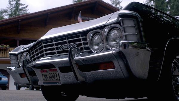10 Supernatural SPN Season Ten Episode Eight S10E8 Hibbing 911 Impala Baby