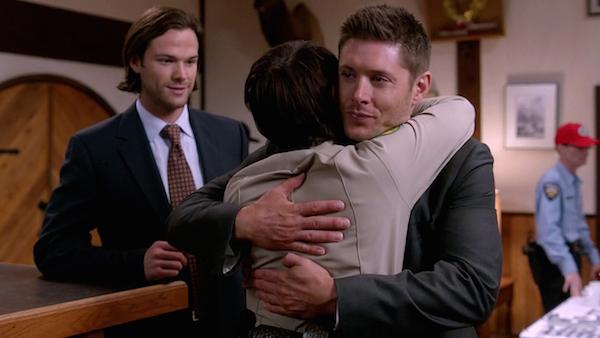 11 Supernatural SPN Season Ten Episode Eight S10E8 Hibbing 911 Sam Winchester Jared Padalecki Dean Jensen Ackles Sheriff Jody Mills Kim Rhodes