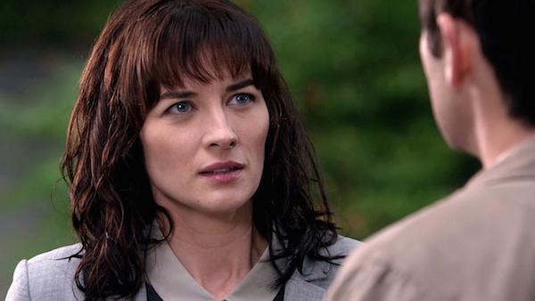11 Supernatural Season 10 Episode 7 SPN S10E7 Girls Castiel Hannah Misha Collins Erica Carroll