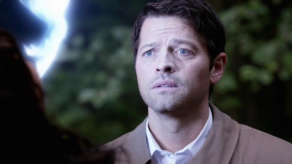 12 Supernatural Season 10 Episode 7 SPN S10E7 Girls Castiel Hannah Misha Collins Erica Carroll
