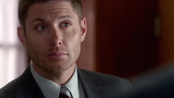12b Supernatural SPN Season Ten Episode Eight S10E8 Hibbing 911 Dean Winchester Jensen Ackles