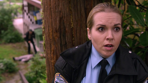 16 Supernatural SPN Season Ten Episode Eight S10E8 Hibbing 911 Sheriff Donna Hanscum Briana Buckmaster