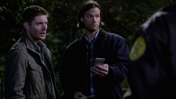 19 Supernatural SPN Season Ten Episode Eight S10E8 Hibbing 911 Sam Winchester Jared Padalecki Dean Jensen Ackles