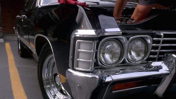2 Supernatural Season Ten Episode Five SPN S10E5 Fan Fiction Baby Impala 200th Episode