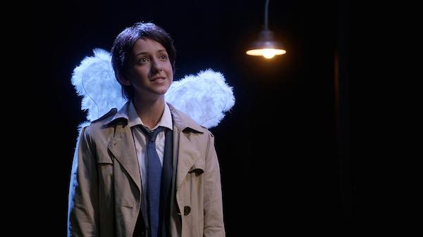 21 Supernatural Season Ten Episode Five SPN S10E5 Fan Fiction Girl Castiel Nina Winkler 200th Episode