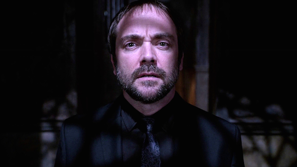 25 Supernatural Season 10 Episode 7 SPN S10E7 Girls Crowley Mark Sheppard