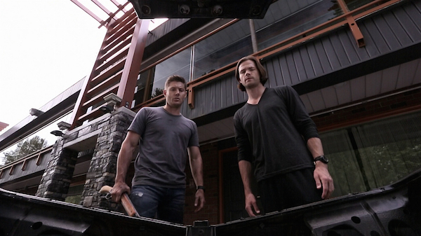 4 Supernatural Season Ten Episode Five SPN S10E5 Fan Fiction Sam Dean Winchester Jensen Ackles Jared Padalecki 200th Episode