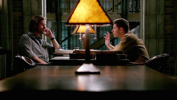 5 Supernatural SPN Season Ten Episode Eight S10E8 Hibbing 911 Sam Winchester Jared Padalecki Dean Jensen Ackles