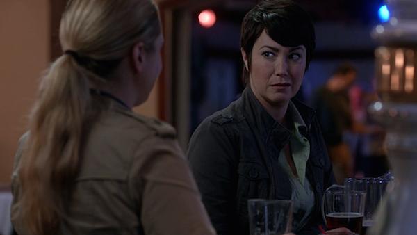 9 Supernatural SPN Season Ten Episode Eight S10E8 Hibbing 911 Sheriff Jody Mills Kim Rhodes Donna Hanscum Briana Buckmaster