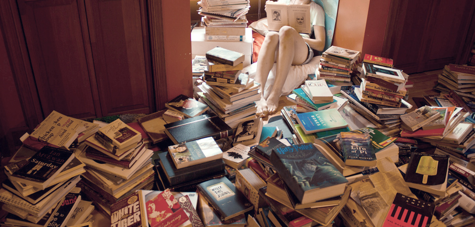 """""""Books"""" by Porsche Brosseau slide"""