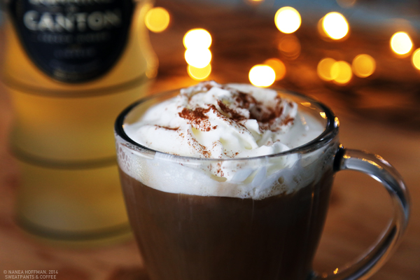 Boozy Gingerbread Latte recipe