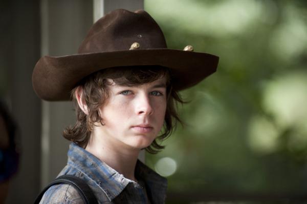 Chandler Riggs Carl Walking Dead