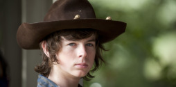 slide Chandler Riggs Carl Walking Dead