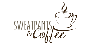 sweatpants and coffee