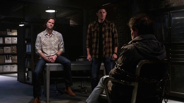 11 Supernatural Season 10 Episode 10 SPN S10E10 The Hunter Games Sam Dean Winchester Metatron Jensen Ackles Jared Padalecki Curtis Armstrong