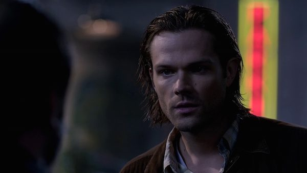13 Supernatural Season 10 Episode 10 SPN S10E10 The Hunter Games Sam Winchester Jared Padalecki wet hair