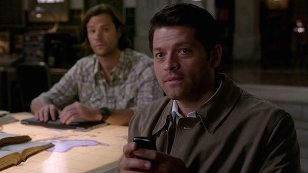 15 Supernatural Season 10 Episode 10 SPN S10E10 The Hunter Games Sam Winchester Castiel Jared Padalecki Misha Collins emoticons