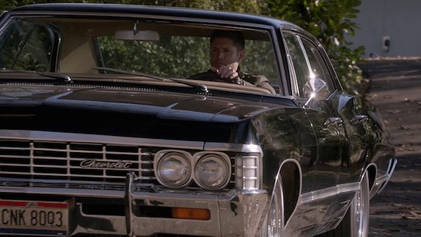 22  Supernatural Season 10 Episode 10 SPN S10E10 The Hunter Games Dean Winchester Jensen Ackles Impala Baby