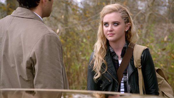25  Supernatural Season 10 Episode 10 SPN S10E10 The Hunter Games Castiel Misha Collins Claire Novak Kathryn Love Newton