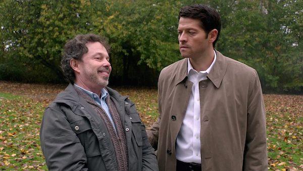 6 Supernatural Season 10 Episode 10 SPN S10E10 The Hunter Games Castiel Misha Collins Metatron Curtis Armstrong