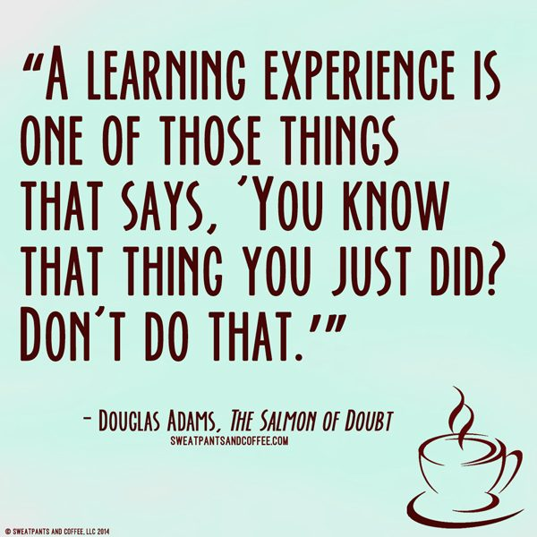 Douglas Adams The Salmon Of Doubt quote