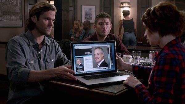 13 Supernatural Season Ten Episode Eleven SPN S10E11 There No Place Like Home Sam Winchester Jared Padalecki Felicia Day Charlie Bradbury Dean Jensen Ackles