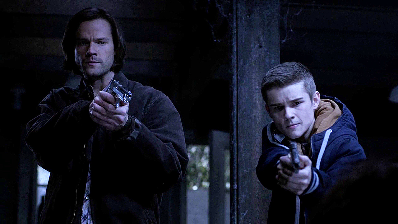 15 Supernatural Season Ten Episode Twelve SPN S10E12 About A Boy Sam Young Dean Winchester Jared Padalecki Dylan Everett