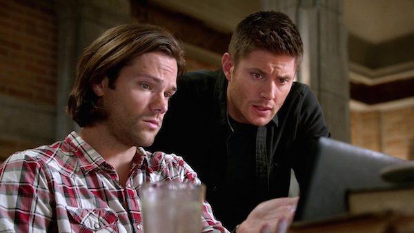 2 Supernatural Season Ten Episode Eleven SPN S10E11 There No Place Like Home Dean Sam Winchester Jared Padalecki Jensen Ackles Bunker