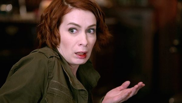 20 Supernatural Season Ten Episode Eleven SPN S10E11 There No Place Like Home Charlie Bradbury Celeste Felicia Day
