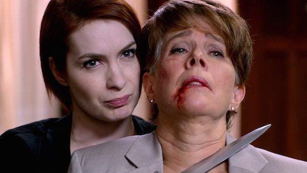 8 Supernatural Season Ten Episode Eleven SPN S10E11 There No Place Like Home Felicia Day Charlie Bradbury Dark