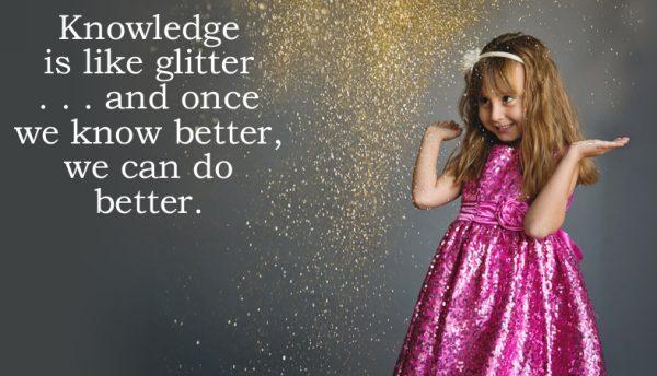 Jennifer Krantz glitter in her veins_quote