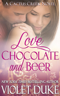 Love Chocolate And Beer by Violet Duke