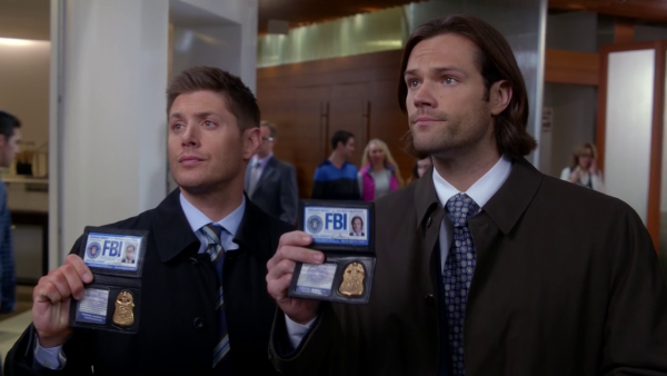 Supernatural Season Ten Episode Thirteen SPN S10E13 Halt and Catch Fire Sam Dean Winchester Jared Padalecki Jensen Ackles