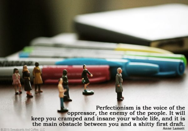 Anne Lamott on Perfectionism
