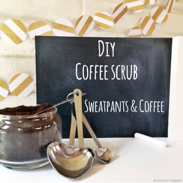 DIY Coffee Scrub recipe