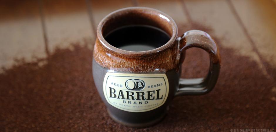 Death Wish Coffee Barrel Brand